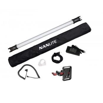 Rent Nanlite PavoTube 15C 2' RGBW LED Tube + D-Tap + V-Mount Clamp