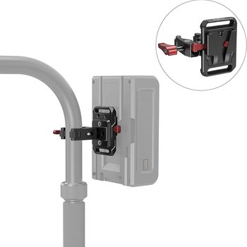 Rent SMALLRIG Mini V-Lock Mount Battery Plate with Crab-Shaped Clamp