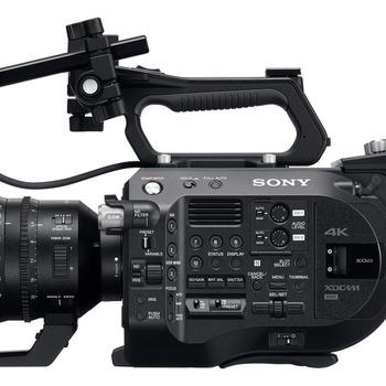 Rent Super Compact Doc Camera Kit - Sony FS7 Mark II with Sony FE 24-70mm 2.8 Lens, Sennheiser MKH 416 Shotgun Microphone, & Tenba Roadie Backpack