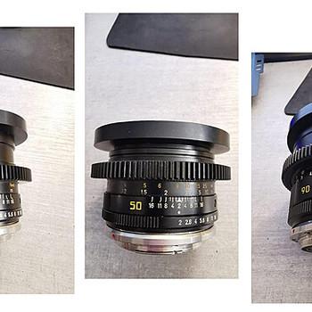 Rent Leica R Lens 3-lens Set Cinemodded by TLS