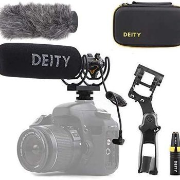 Rent Deity Microphones V-Mic D3 Pro Camera-Mount Shotgun Microphone + Location Recording Bundle