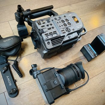 Rent Sony FX9 Camera Kit with Lens and Full Audio Gear Package (28-135mm Lens, 20mm Wide-Angle Lens)