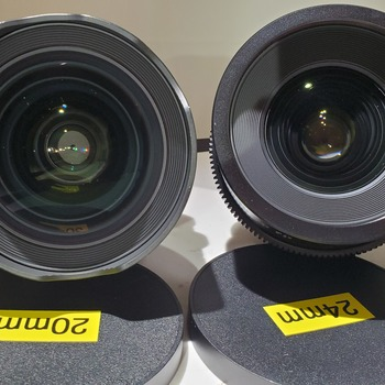 Rent Sigma Cine Lens Kit (EF Mount) 20, 24, 35, 50, & 85