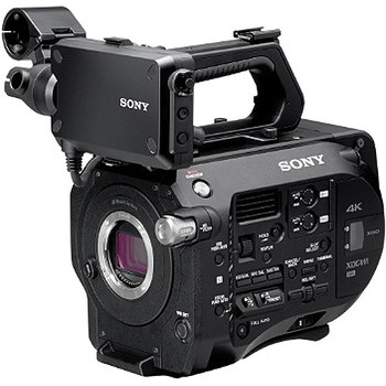 Rent Sony FS7 with Camtree camera cage and 15mm rod system