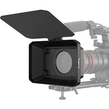 Rent SmallRig Lightweight Carbon Fiber Matte Box w/15mm rod support and clamp-on ring