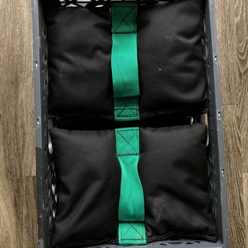 Rent 10x 20lb Shotbags with Milkcrate