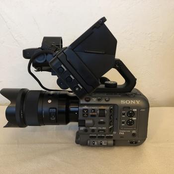 Rent Sony FX6 Full-Frame Cinema Camera | 4K 60fps | UHD 4K 120fps | 1080p 240fps