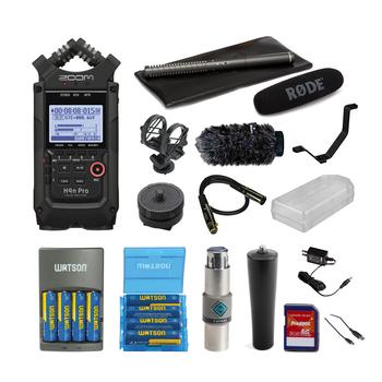 Rent Zoom H4n Pro, Rode NTG2 w/ Accessories