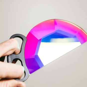 Rent 150MM Handheld Subtle Kaleidoscope - MULTICOLOR | Prism Lens FX