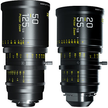 Rent DZOFilm Pictor 20-55mm and 50-125mm T2.8 (PL/EF)