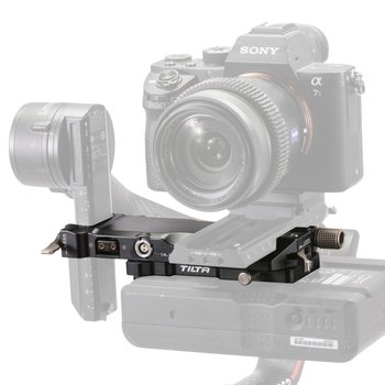 Rent DJI RS2 V-Mount Battery Plate Power Pass-through Kit + Extended Quick Release Baseplate