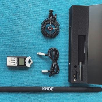 Rent AT897 + Zoom H4N Boom Mic Kit