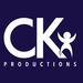Ck productions logo square dark background