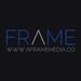 A frame logo