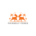 Friendly foxes logo design by genovius2016 01