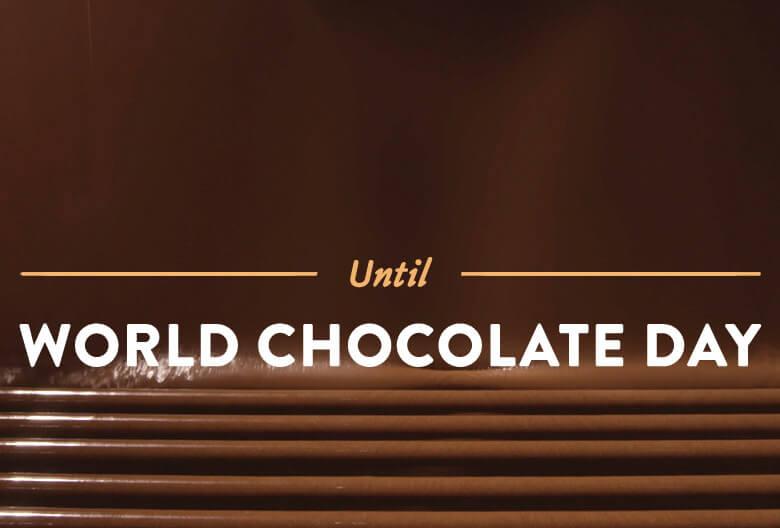 Countdown until World Chocolate Day Celebration