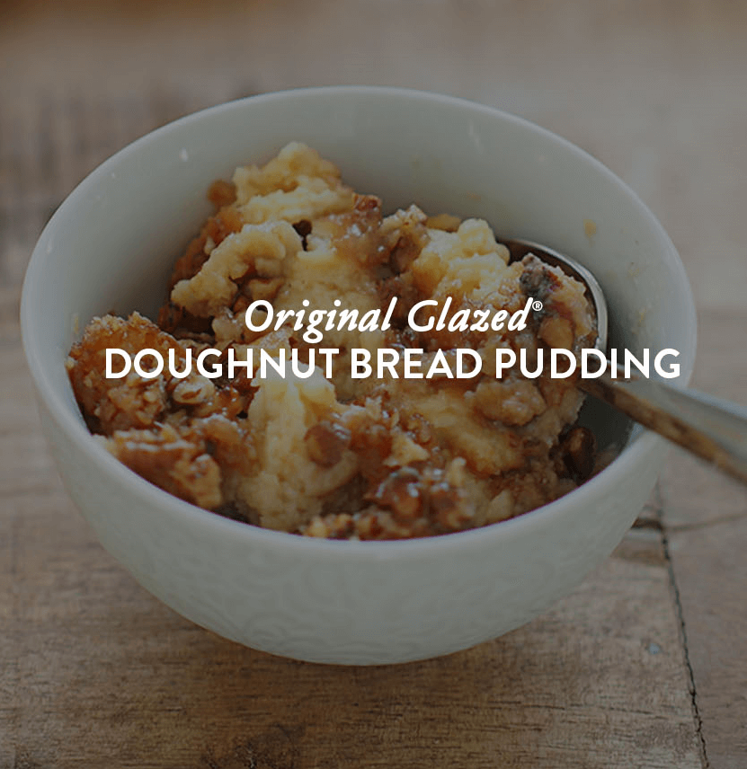 Doughnut  Bread Pudding