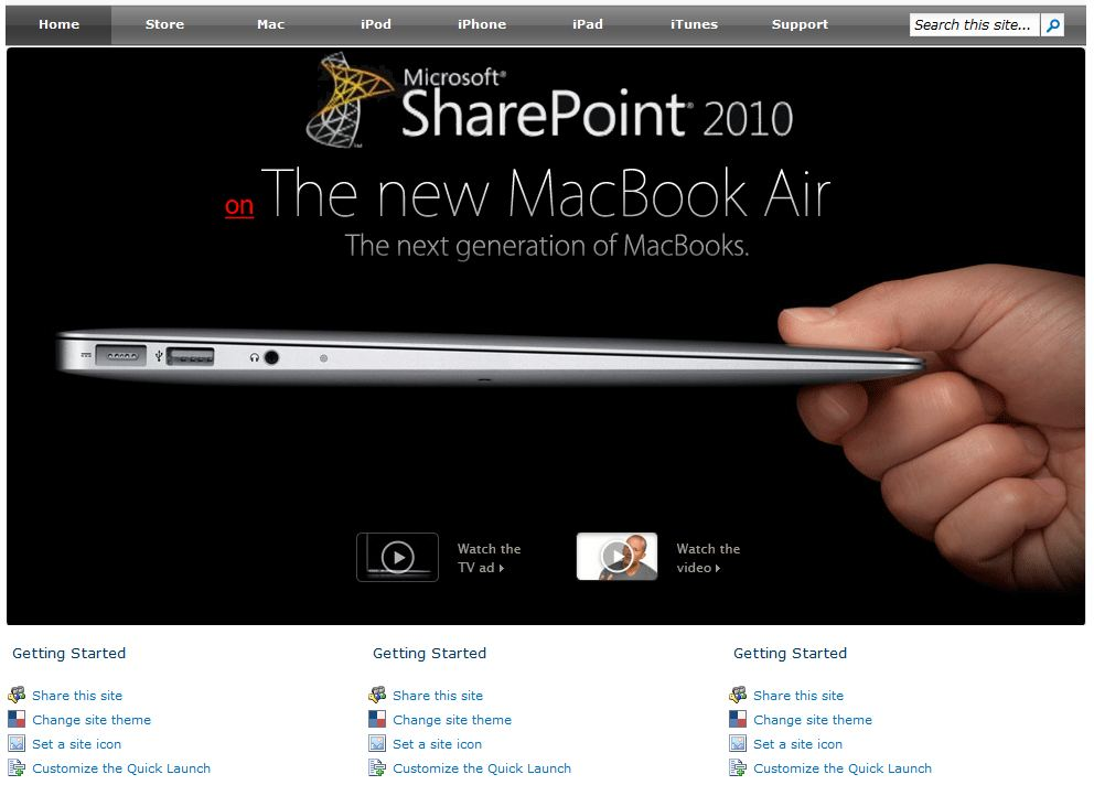 Free Sharepoint 2010 Master Page Templates