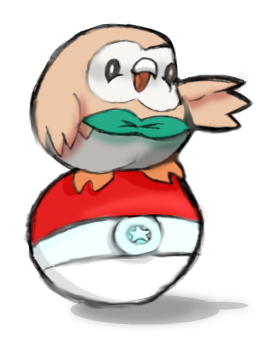 20160805p3-Rowlet pokemon badge.png