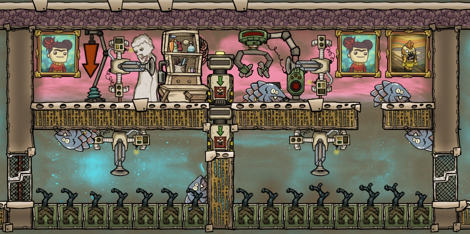 Oxygen Not Included Drecko Farm Home Collection