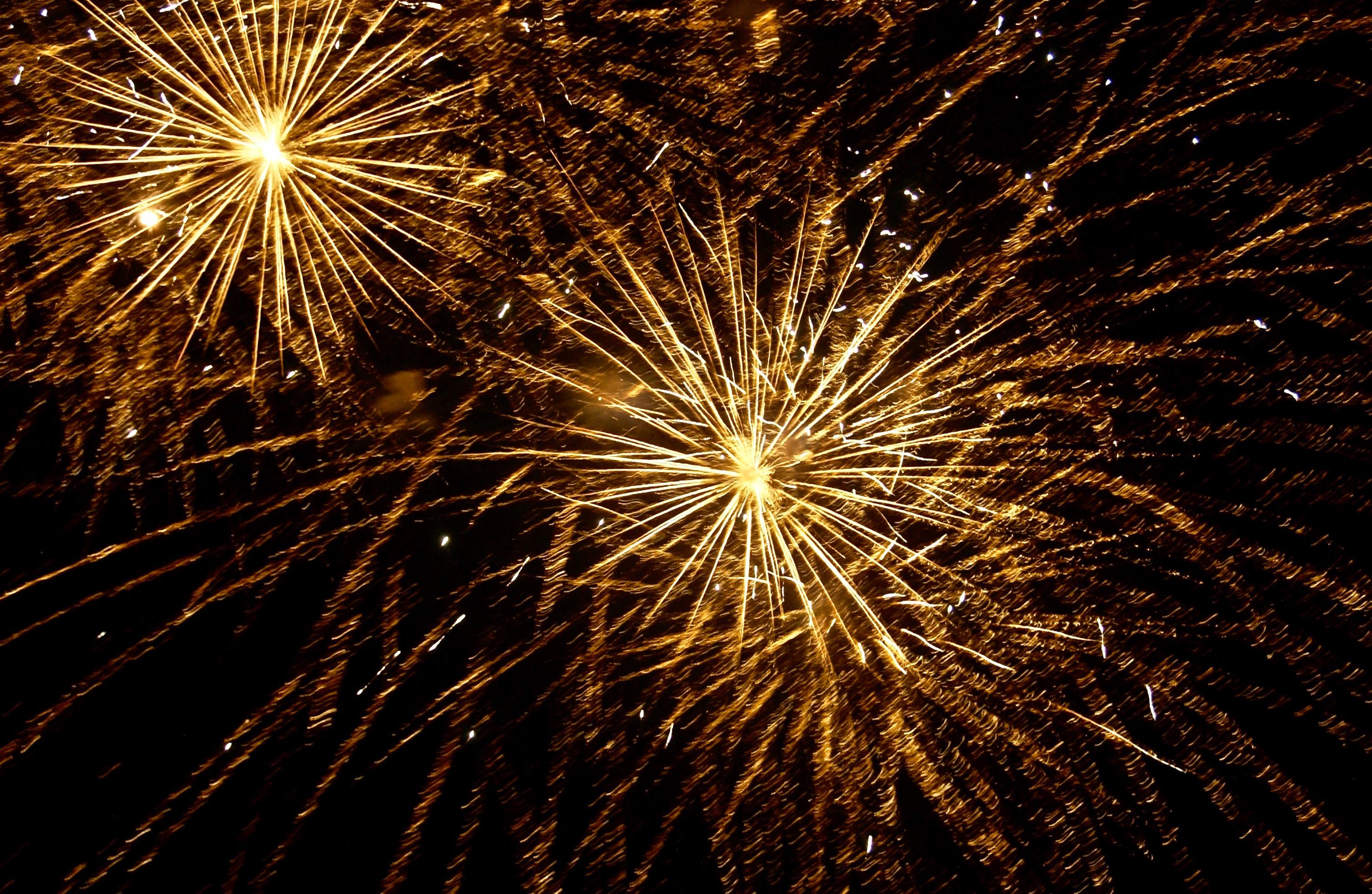 Fireworks; End of Summer; Ocean Park, Oak Bluffs, Martha's Vineyard, Massachusetts, USA