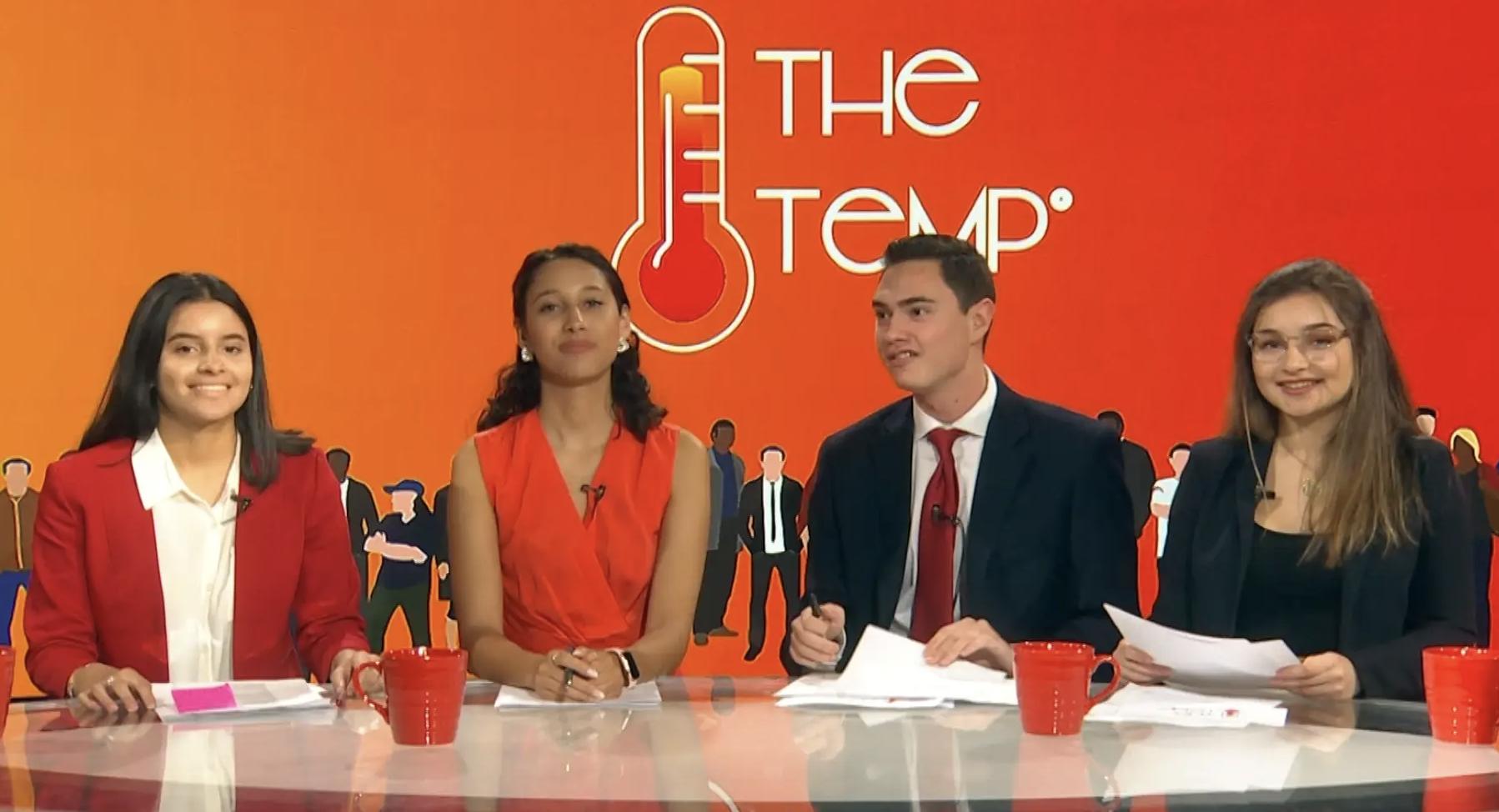 The Temp premiere