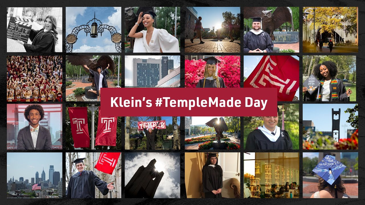 Klein College #TempleMade Day Toast