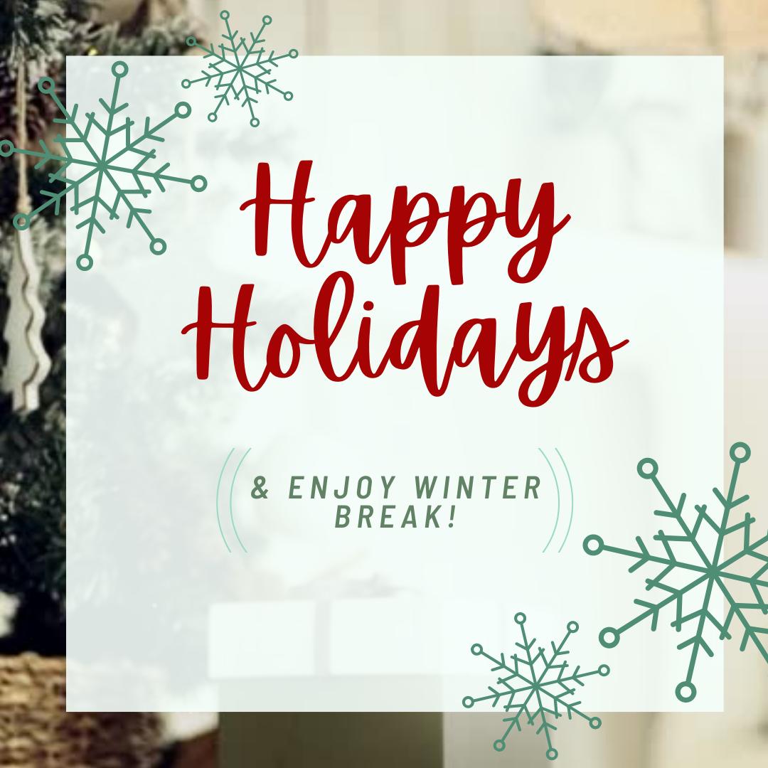 Happy Holidays from TUTV