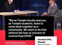 TUTV Community Forum: Vaccine Hesitancy
