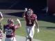 Branden Mack celebrates a Temple touchdown