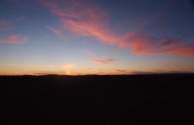 First light; Sahara Desert, Morocco. December 2007