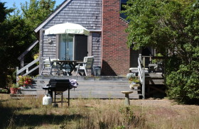 Summertime; Barnhouse, Edgartown, Martha's Vineyard, Massachusetts. August 2007.