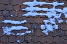 Patterns; winter sunrise; Ljubljana, Slovenia. January 2015.