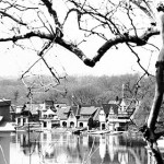 """Boathouse Row"" Sara Ironman, Basic Photography Spring 2000"