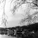 """""""Boathouse Row"""" Mike Mooney, Basic Photography Spring 2000"""