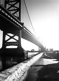 """Converging Lines"" John P. Gelety, Basic Photography Spring 2000"