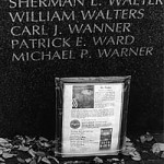 """Vietnam Verteran Memorial"" Michael Potter, Basic Photography Fall 1999"