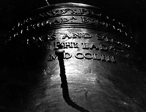 """Liberty Bell"" Craig Rizzo, Basic Photography Fall 1999"