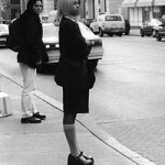 """Street Fashion"" Bethanne Schaefer, Basic Photography Fall 1999"