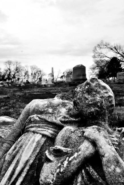 """Laurel Hill Cemetery"" Ariel Shuhart, Basic Photograhy Spring 2011"