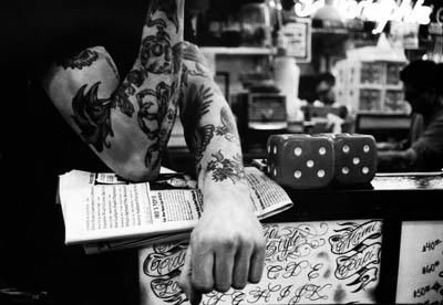 """""""Tattoo"""" Faye Murman, Basic Photography Spring 2006"""