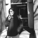 """Students"" Carolina, 24, began smoking at age 17. She started smoking because ""I thought it was cool"" and she continues to smoke because ""I am an idiot."" Brooke Davis, Basic Photography, Fall 2001"