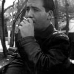 """Free Selection I"" Naser Miftari, 27, is a master of journalism student who started smoking at 14. ""I quit for three years and started again,"" he said. ""It's better to have some bad habit then not have any."" Angy Peterson, Basic Photography, Fall 2001"