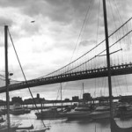 """Ben Franklin Bridge"" Erik Sokolowski, Basic Photography, Fall 2001"