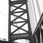 """Ben Franklin Bridge"" Caitlin Ryan, Basic Photography, Fall 2001"