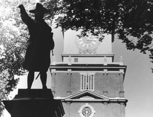 """Independence Hall"" Blake Jackman, Basic Photography, Fall 2001"