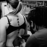 """Tattoo"" Melissa Minnich, Basic Photography Spring 2005"