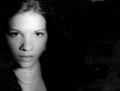"""Self-Portrait"" Stehpanie Tremoglie, Basic Photography Spring 2005"