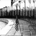 """Vietnam Memorial"" Shandy Lee, Basic Photography Spring 2001"