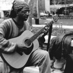 """Street Music"" Karl Schloesser, Basic Photography Spring 2001"